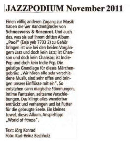 schneeweiss-rosenrot_presse-2012_Jazz Podium_November 2012 copy