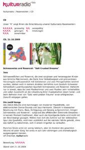 "rbb Kulturradio | Schneeweiss und Rosenrot_ ""Salt Crusted Dreams"
