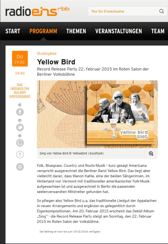 Lucia Cadotsch - yellow bird reviews